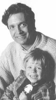 Edward Kruk met zoon.